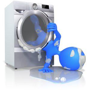 In der Waschmaschine beim Lesen von Paragraphen eingeschlafen