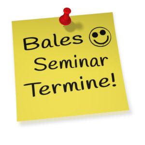 Seminar Terminliste